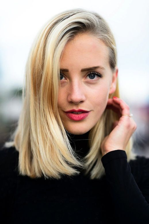 Blonde Bob hair color