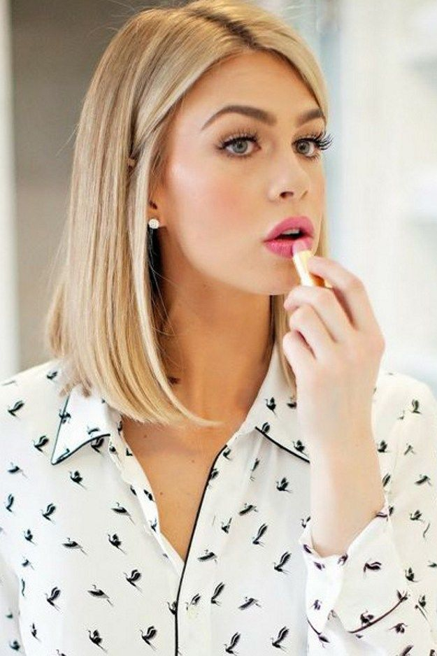 medium blonde bob hairstyles for ladyes
