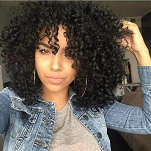 Beauty Curly Black Hair