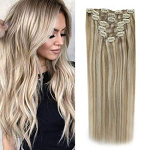 Blonde Hair Extentions