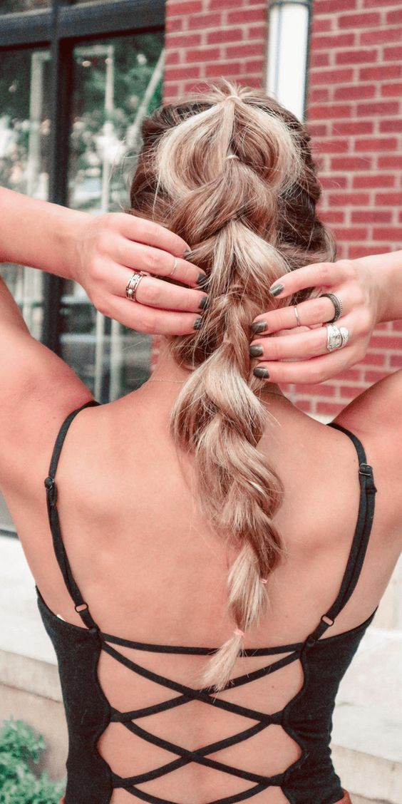 Boho Braid hairstyle