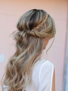 Boho Braids Back Headbands