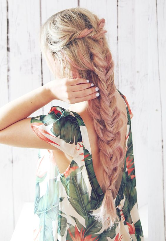 Double Boho Braid hairstyle