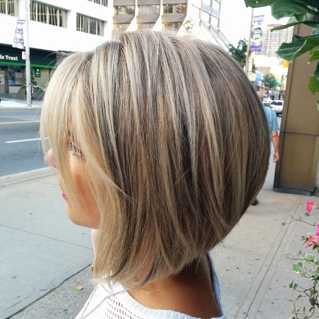 Layered bob for hair