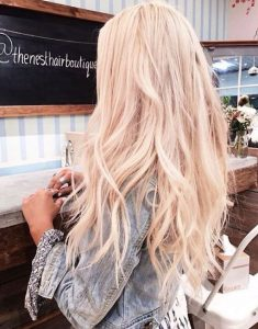 Long Blonde Hair Ideas