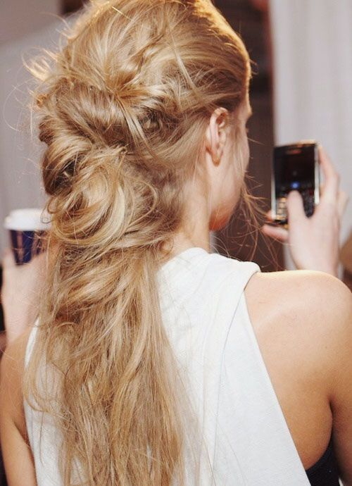Messy Loose Boho Hair