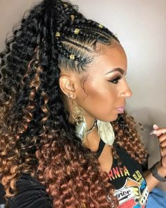 Ponytail Crochet Hairstyle