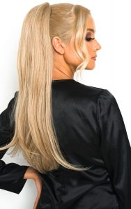 Ponytail-hair-extensions-honey-blonde