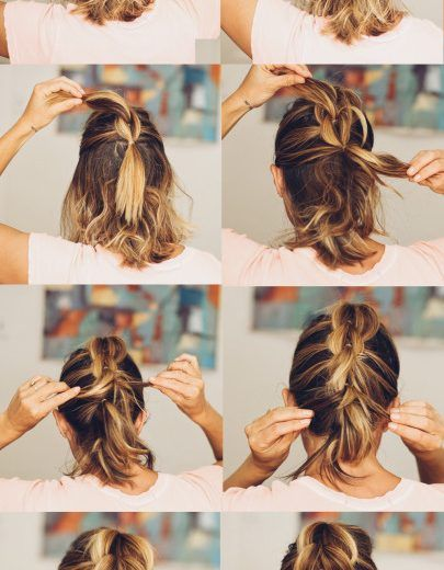 Pull Throughout Braid hair
