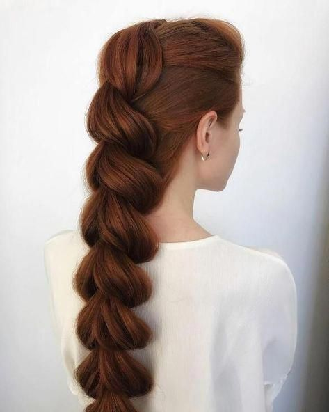 Pull Throughout Braid hairstyles