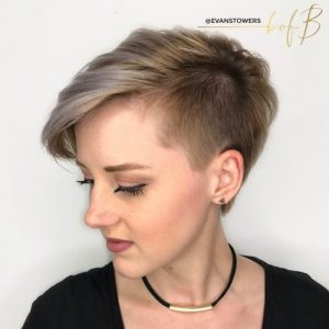 Unbalanced pixie hairstyles for you