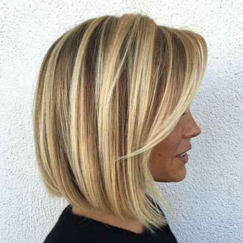 blonde-balayage-bob-with-side-bangs