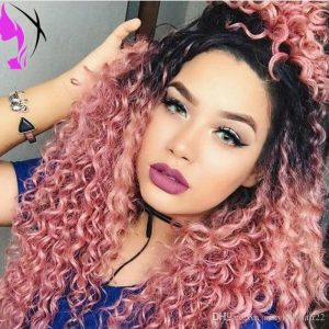 Curly Crochet Hairstyle