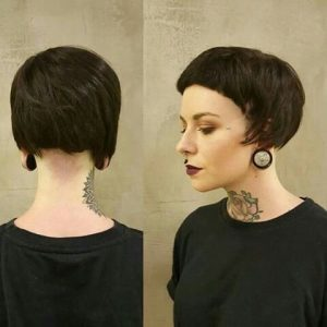 Micro Bowl Hairstyle